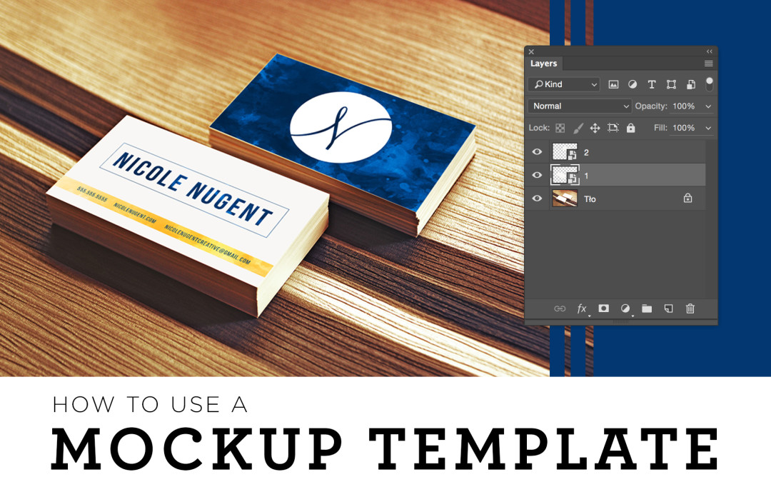 How to Use a Mockup Template
